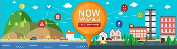 U Mobile 4G Network coverage