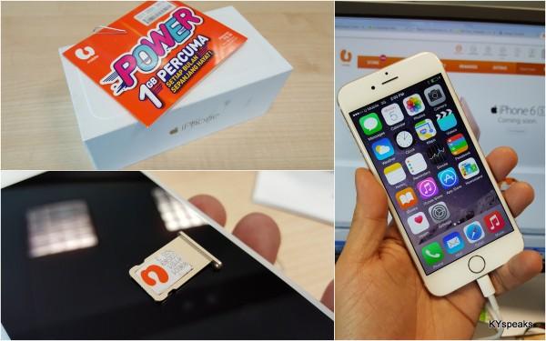 U Mobile on iPhone 6