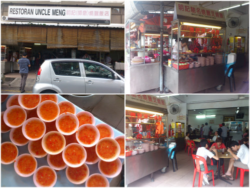 restaurant uncle meng is actually a kopitiam