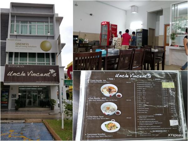 Uncle Vincent's at Bukit Rimau, Selangor