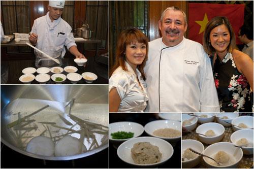 Cheo Troai Noouc (the dessert), Haze, Chef Antoine, Ciki
