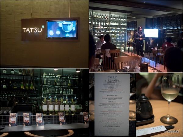 Vina Maipo wine dinner Tatsu Intercontinental KL