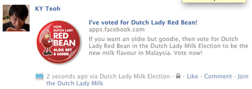 voted for world milk day flavor
