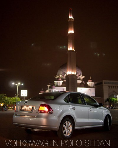 Volkswagen Polo Sedan, Putra Mosque