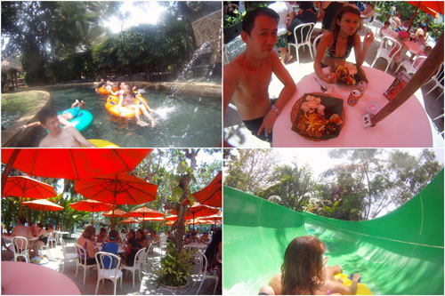loads of fun time, plus some over priced food at waterbom bali