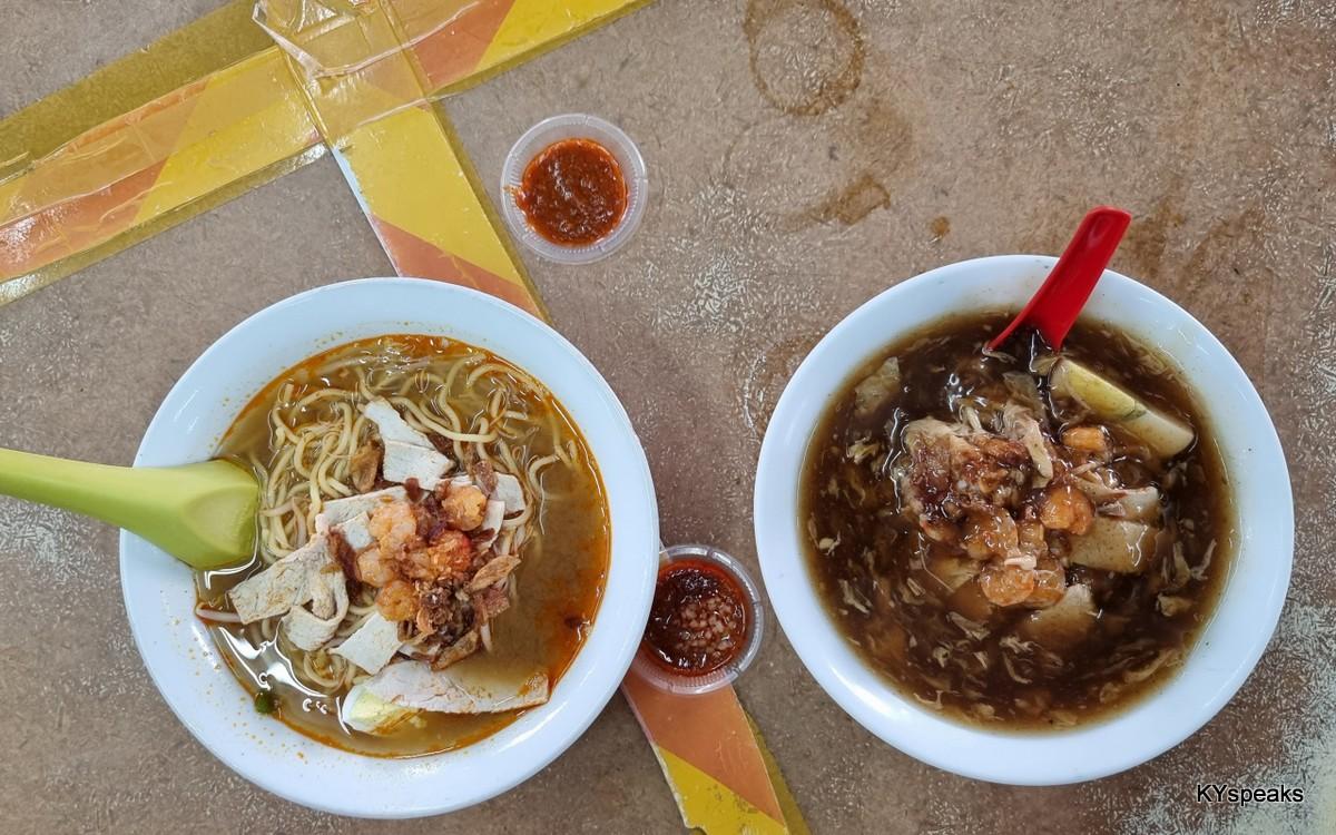 Penang style Prawn Mee & Loh Mee