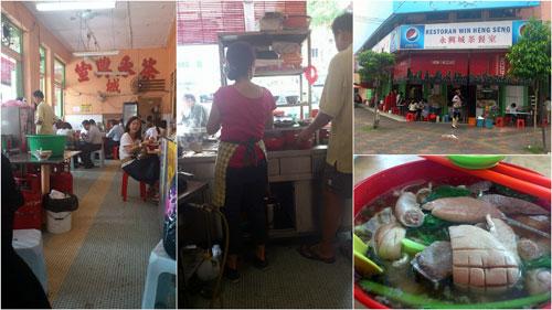 restaurant Win Heng Seng, jalan Imbi