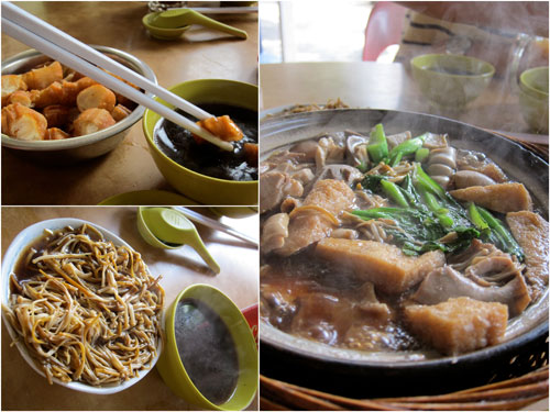 glorious bak kut teh, yau char kuai, and inoki mushroom