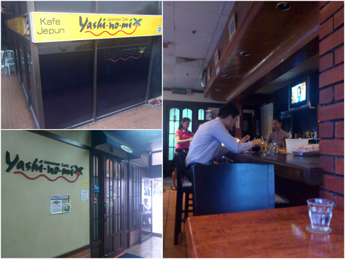 Yashi-no-mi Japanese Cafe at Wisma Cosway