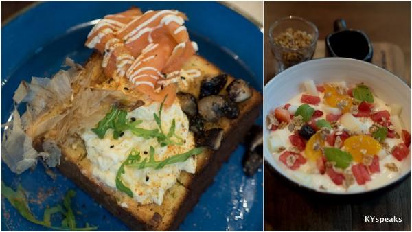 Breakfast Box (RM 22.90), Breakfast Eton Mess (RM 10.90)