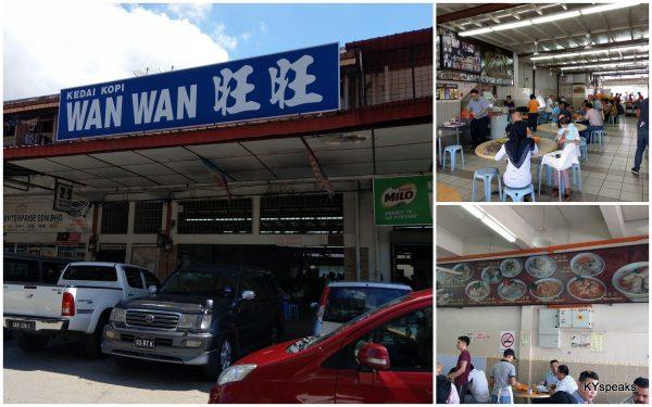 Wan Wan fish noodle, Kota Kinabalu