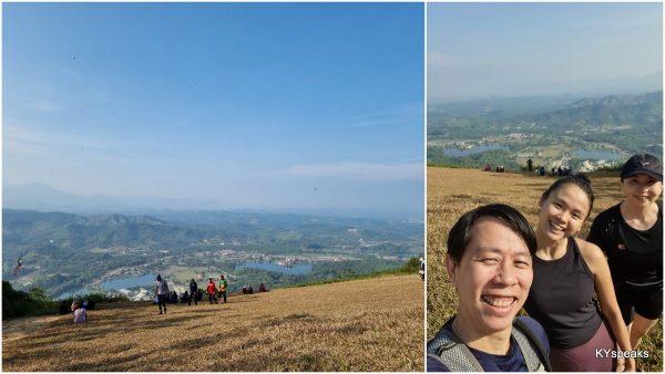at the peak of bukit batu pahat