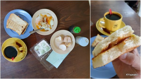 breakfast set with perfect sous vide half boiled eggs