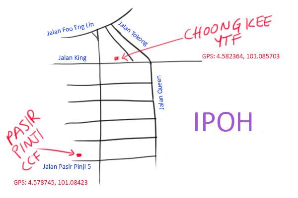 choong kee ipoh map