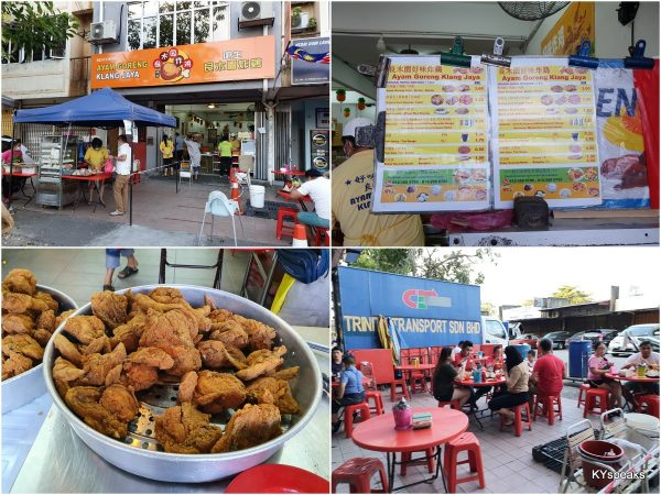 Klang Jaya fried chicken