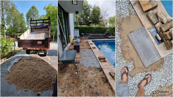 proof of concept - granite + sand, no cementing