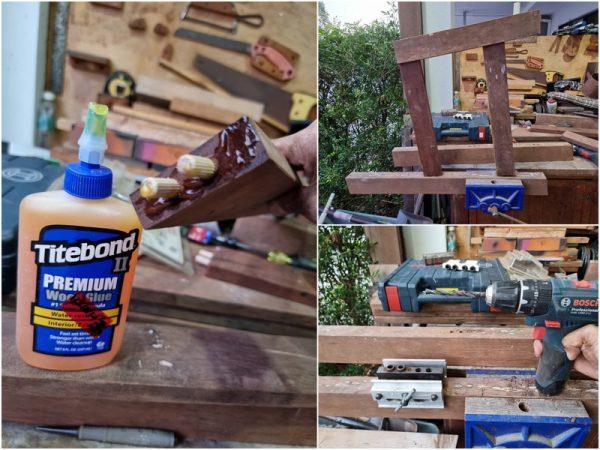 drill, dowels, and trust the titebond glue